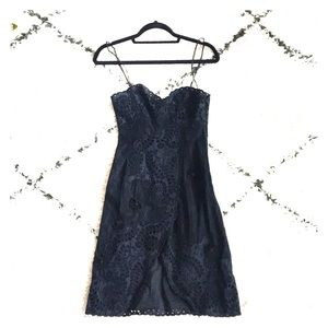 Gorgeous black lace Jill Stuart dress